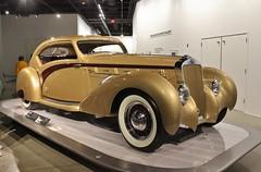 The New Petersen Automotive Museum (USautos98) Tags: 120 d8 coupe 1937 delage aerosport letourneuretmarchard