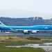 KLM Boeing 747 -400 runway 1R SFO  DSC_0848