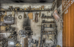 Ironbridge Cobblers (Darwinsgift) Tags: ironbridge museum blists hill victorian town telford shropshire nikkor 20mm f18 g nikon d810 photomatix photoshop hdr