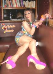 Feet First (jessicajane9) Tags: tv cd tgirl lgbt trans m2f transgender tg transvestite feminized boy2girl crossdressing nylon