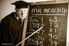 Good Morning Mr Meredith! (twinnieE) Tags: pioneers coop teacher victorian pioneersmusuem 1900 blackboard