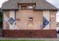 John Lennon Street (Grzesiek.) Tags: bardejov johnlennon street ulica house building budynek slovakia sowacja thebeatles