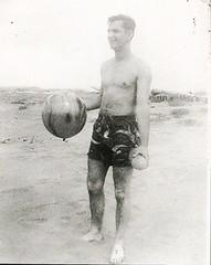 the marbled beach ball- I remember those (912greens) Tags: swimmers bathers beachballs dunes folksidontknow ocean trunks bathingsuits swimwear