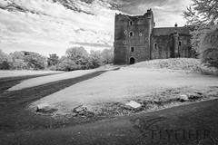IMG_0617 (Flyfifer Photography) Tags: blackandwhite doune dounecastle greatbritain infrared places scotland stirlingshire unitedkingdom