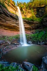 Kaaterskill Falls (xjjon) Tags: waterfalls sunset sun newyork landscape mountain cave water longexposure hdr wideangle sony sonya7rii 1635