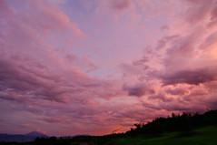 Shimpu sunset (tenugui) Tags: mtfuji fujisan sky sunset twilight yamanashi