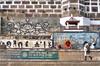 காசி (Kals Pics) Tags: kasi varanasi banares uttarpradesh india life people travel yoga exercise ghats ganges river ganga holy spiritual divine sacred cwc roi chennaiweelendclickers rootsofindia history myth legend yogasana paintings sanyasi yogi sadhu saint incredibleindia divineindia culturalindia kashi benares ancientcity historiccity words letters designs culture tradition mythology lordshiva annapoorani sati manikarnika spiritualcapital kalspics cwc315