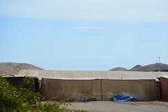 fog tent or garua tent (cam17) Tags: arica chile aricachile fogcatcher garuacatcher irrigationsystem fogcatchingnet atacamadesert atacama fogtent garuatent
