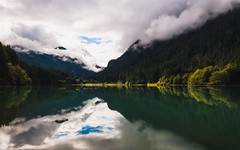 The Last Thing She Said... (John Westrock) Tags: mountains clouds longexposure reflection trees nature scenic northcascades canoneos5dmarkiii canonef1635mmf4lis bwnd1000x washington pacificnorthwest