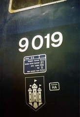 9019 GCR Loughborough 1990 (37260 - 5.5 million+ views, many thanks) Tags: 9019 gcr loughborough 1990