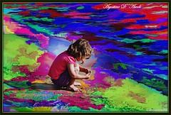 Nel fantastico mondo dei bambini - Ottobre-2016 (agostinodascoli) Tags: bambino persone mare spiaggia nikon nikkor nature texture colore fullcolor photoshop photopainting digitalart art agostinodascoli digitalpainting digitalgraph