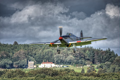 Hawker Hurricane G - CBOE (nigdawphotography) Tags: hawkerhurricane hurricane fighter ww2 raf allied goodwood ag244