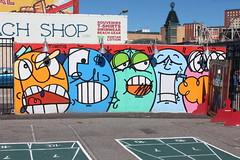 Coney Island - Coney Art Walls: Timothy Curtis (wallyg) Tags: agua brooklyn coneyartwalls coneyisland kingscounty mural newyork newyorkcity ny nyc streetart timothycurtis