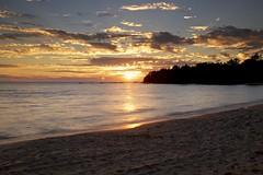 hibbard bay sunset (twurdemann) Tags: 06ndhardgrad beach gnd2h hibbardbay hoyandx8 lakesuperior leeseven5 longexposure neutraldensityfilter nikcolorefex procontrast reflectorefex skylightfilter summer sunset