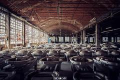 Abandoned Factory (Urbex Diary) Tags: ue urbex urban exploration lost place abandon decay fabrik verlassen verfallen klo wc canon eos 6d 1635 f2 8 travel urbanexploration lostplace