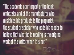 Quotation: A definition of plagiarism (Ken Whytock) Tags: academic embezzler mislabels plagiarist student scholar reader original lies liar cheat education dishonesty