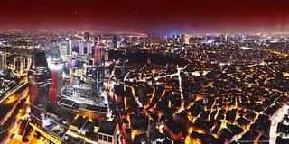 Panorama Nightscape Istanbul