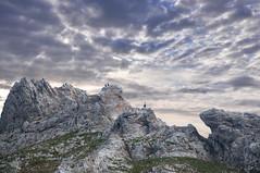 Alpen Gmse (Mariandl48) Tags: gmse felsen gams felsenlandschaft wolkenhimmel steiermark austria