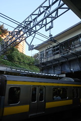 "Yotsuya Station from movie ""your name.""01 (HAMACHI!) Tags: tokyo 2016 japan yotsuya   yourname movie locationsite  pilgrimage fuji fujifilm fujifilmx70 fujifilmx x70"