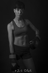 Knockout (J.a.Salgado) Tags: portrait sports beauty sport nikon skin body style boxing tamron lowkey boxeo portraitsession 4lights tamron2470f28 nikond750