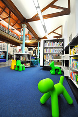 Caerphilly County Borough Council - Bargoed Library (bof_furniture) Tags: school inspiration colour puppy design education bright library magis boffurniture puppystool