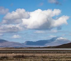 Shading the mountain, colour (Grim Weaver) Tags: seascape mountains colour clouds canon scotland scenery shorelines seascapes canoneos canonrebelti outerhebrides canon500d isleofharris