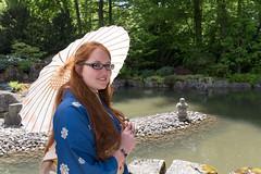Temari @ Frhlingsfest 2015 (BX_Orange) Tags: sunshine garden bayern deutschland spring kimono garten augsburg frhling japanisches botanischergarten frhlingsfest temari temarikimono