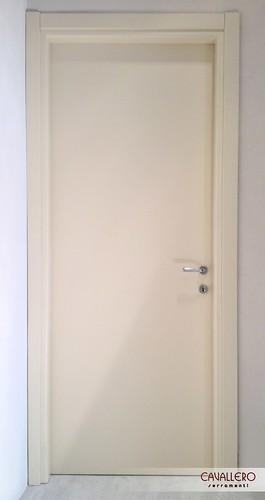 Porta interna liscia laccata bianca 100CT
