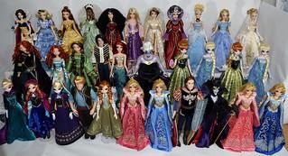 My Disney Store Limited Edition 17'' Princess Dolls - 2015-04-29