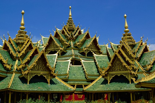 Pavilion of the Enlightened in Muang Boran (Ancient Siam) in Samut Prakan province, Thailand