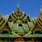 Pavilion of the Enlightened in Muang Boran (Ancient Siam) in Samut Prakan province, Thailand thumbnail