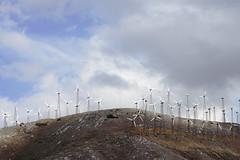Ultimate Power (Lee Stonehouse) Tags: california sky fans turbine windpower