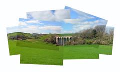 Lyme Regis Viaduct - Photo Montage (joshuahankins29) Tags: pictures david photo group join montage davidhockney hockney joiner multi lyme regis
