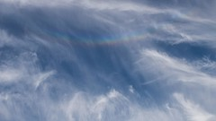 Seen over Nether Stowey: Circumzenithal Arc (velodenz) Tags: nether stowey sky cloud circumzenithal arc rainbow regenbau arcenciel velodenz fujifilm x30 digital image pic picture phot photo photograph photography trip voyage journey ride holiday vacance en vacances vacation cycling cyclisme cycle touring cycletouring cyclotourisme cicloturismo ctc wkhr west kent hardriders tour whitsun spring bank somerset quantock hills countryside spectrum fujiusers