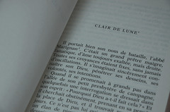 Clair de lune - Guy de Maupassant (Vestia) Tags: page lecture livre nouvelle maupassant écriture littérature clairdelune
