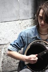 Music in the air (Ondeia) Tags: music guy genova musica ragazzo