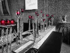 Chapel of the Holy Cross, Sedona (nadine3112) Tags: sedona colorkey colorkeying chapeloftheholycross