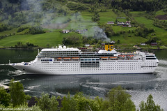 Costa neoRomantica (Nikon Kristian) Tags: cruise costa mountain nature norway norge nikon ship natur norwegian cruiseship fjord skip scandinavia cruises stryn fjell olden vestlandet noreg 2015 nordfjord sognogfjordane norwegianfjord nordfjorden cruiseskip visitnorway cruiseseason westnorway costacruises portofolden nikond5100 costaneoromantica sigma18200mmf3563iidcos 30052015 cruisesesongen2015 cruiseseason2015