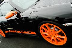 Acceptable vandalism (KB_S1) Tags: auto cars scotland 911 porsche sportscars 997 gt3rs walterrohrl breakfastmeet tartantarmac