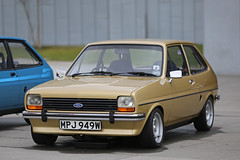 Mk 1 Ford Fiesta (<p&p>photo) Tags: auto show uk classic ford museum river gold 1 scotland riverclyde clyde classiccar fiesta riverside display mark glasgow transport may autoshow event 80s 1981 motor 1980s mk 1300 2016 clydeside fordfiesta classiccarshow glasgowtransportmuseum glasgowmuseumoftransport i worldcars fordfiestamark1 riversidemuseum mk1fordfiesta glasgowriversidemuseumoftransport fordfiesta13 mkifordfiesta mpj949w may2016 fordfiestamarki mk1fordfiesta13
