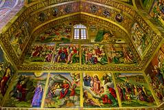 The interior of the Vank Cathedral (T   J ) Tags: nikon iran d750 yazd teeje nikon2470mmf28