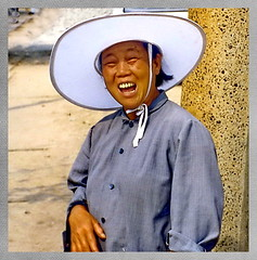 Qingdao, Lachen ist ansteckend (gerardeder) Tags: world china travel portrait asia east reise