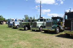 IMG_2854 (RyanP77) Tags: show california b white truck log model shiny trucker international chevy chrome r pete logger gmc peerless kw peterbilt ih kenworth cabover bullnose fruehauf