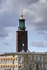Una de mis siluetas favoritas de Estocolmo (Ana >>> f o t o g r a f  a s) Tags: europa europe sweden stockholm schweden sverige scandinavia sthlm estocolmo stoccolma suecia stadshuset fused photomatix escandinavia stadshustornet geo:country=sweden geo:region=europe potd:country=es