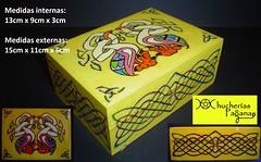 Caja para mazo de tarot (Chucheras Paganas) Tags: diosa