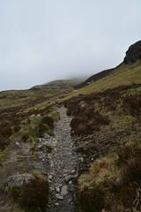 Heading into the cloud (nic0704) Tags: blue mountain climb scotland bell ben walk hill rocky hike ridge summit loch ptarmigan bluebell hillwalking lomand munro trossoch