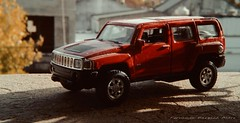 (ojoadicto) Tags: auto red macro car toy mini juguete