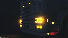 eurotrucks2 2016-05-20 12-58-23 (JonSnow-Emre54) Tags: scania theodora 164l 580 v8 greek lights lightmask power truck outdoor flares orange red euro ets2 game simulation scs