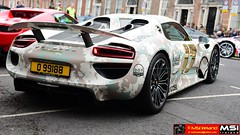 Gumball 918. 750_1650 - (MSI Ireland) Tags: dublin awesome spyder special hybrid supercar gumball mega sportscars 2016 supersports porschespyder gumball3000 hypercar porsche918 gumball3000dublin2016 nikkor2470mmf28ifed