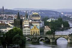 Prague in full splendour (rayordanov) Tags: prague charlesbridge vltava nrodndivadlo
